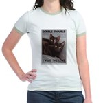 Double Trouble Jr. Ringer T-Shirt