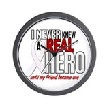Never Knew A Hero 2 PEARL (Friend) Wall Clock