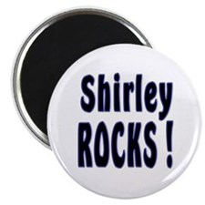 Shirley Rocks ! Magnet