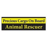 Animal Rescuer Bumper Bumper Sticker