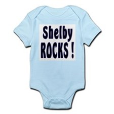 Shelby Rocks ! Infant Creeper