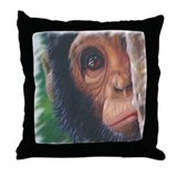 """Shy"" Throw Pillow"