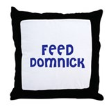 Feed Domnick Throw Pillow
