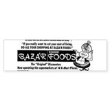 Bazar Foods Bumper Sticker (10 pk)