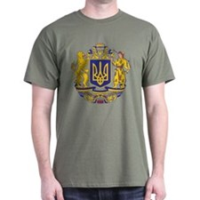 Ukraine Large Coat Of Arms T-Shirt