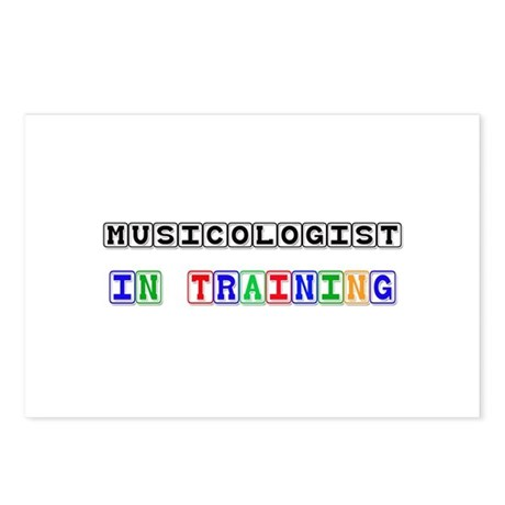 Musicologist In Training Postcards (Package of 8)