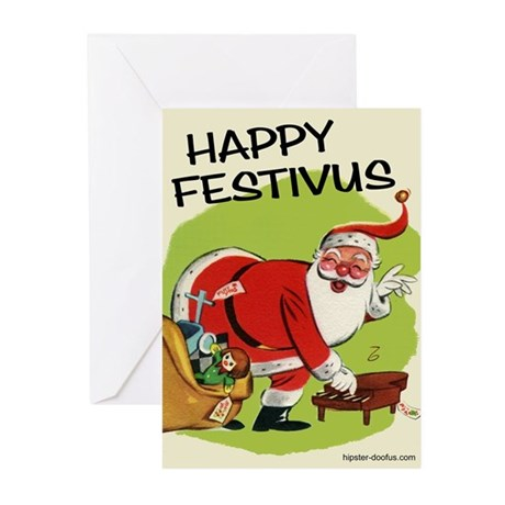 Santa Claus/Festivus Cards (Pkg of 10)