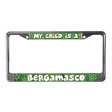 My Kid Bergamasco License Plate Frame