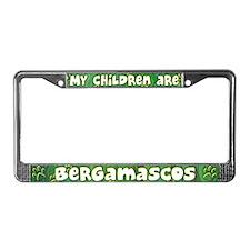 My Children Bergamasco License Plate Frame