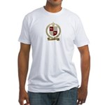 DOUCET Family Crest Fitted T-Shirt