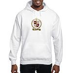 DOUCET Family Crest Hooded Sweatshirt
