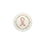 Breast Cancer Support Cousin Mini Button