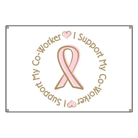 Breast Cancer Support Co-worker Banner