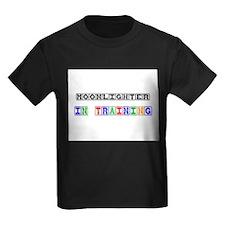 Moonlighter In Training Kids Dark T-Shirt
