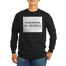 Moonlighter In Training Long Sleeve Dark T-Shirt