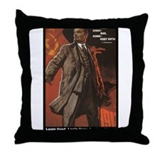 Lenin Lives! Throw Pillow