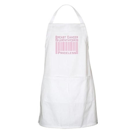 Breast Cancer Survivors Priceless BBQ Apron