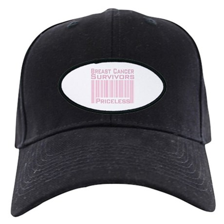 Breast Cancer Survivors Priceless Black Cap
