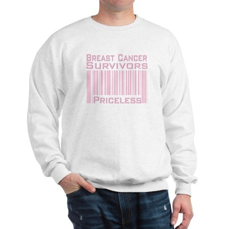 Breast Cancer Survivors Priceless Sweatshirt