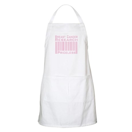 Breast Cancer Research Priceless BBQ Apron