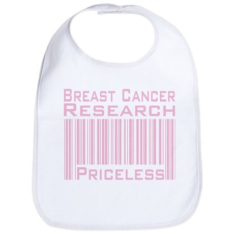 Breast Cancer Research Priceless Bib