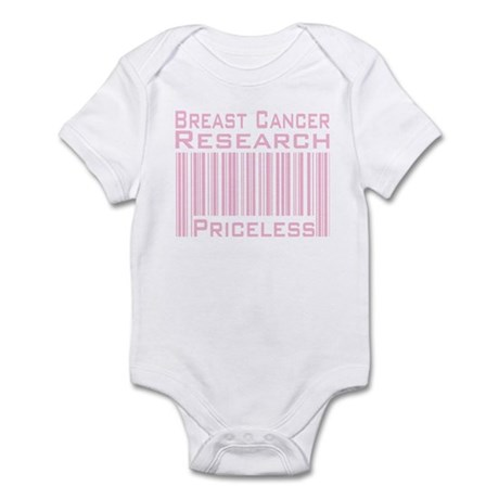 Breast Cancer Research Priceless Infant Bodysuit