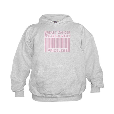 Breast Cancer Research Priceless Kids Hoodie