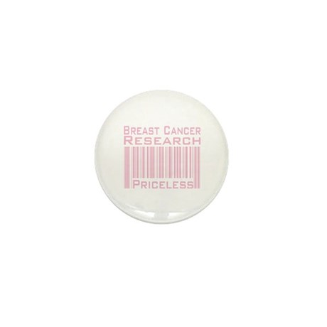 Breast Cancer Research Priceless Mini Button