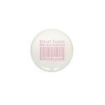 Breast Cancer Research Priceless Mini Button (10 p