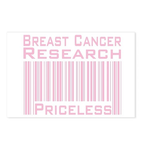 Breast Cancer Research Priceless Postcards (Packag