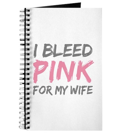 Pink Breast Cancer Wife Journal