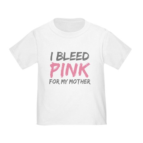Pink Breast Cancer Mother Mom Toddler T-Shi