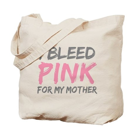 Pink Breast Cancer Mother Mom Tote Bag