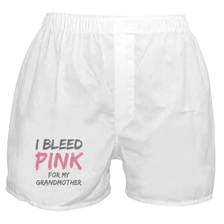I Bleed Pink Grandmother Boxer Shorts