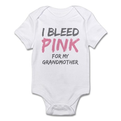 I Bleed Pink Grandmother Infant Bodysuit