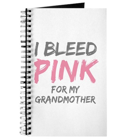I Bleed Pink Grandmother Journal