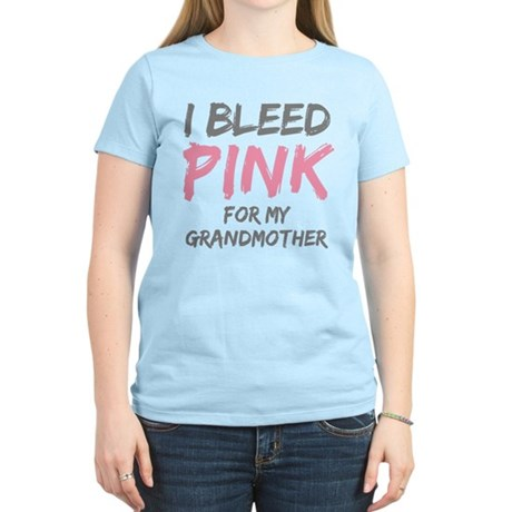 I Bleed Pink Grandmother Women's Light T-Shirt
