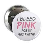 Pink Breast Cancer Girlfriend Button