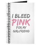 Pink Breast Cancer Girlfriend Journal
