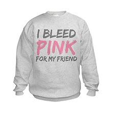Pink Breast Cancer Friend Sweatshirt