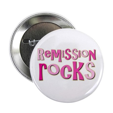 Remission Rocks Breast Cancer Button