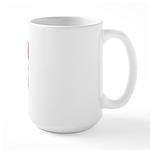 Remission Rocks Breast Cancer Large Mug
