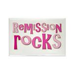 Remission Rocks Breast Cancer Rectangle Magnet (10