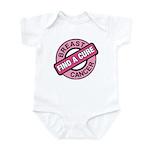 Pink Breast Cancer Find a Cur Infant Bodysuit