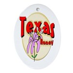 Texas Honey Keepsake (Oval)