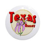 Texas Honey Keepsake (Round)
