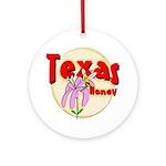 Texas Honey Keepsake (Round)