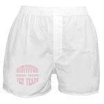 Survivor Breast Cancer Ten Years Boxer Shorts