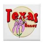 Texas Honey Tile Coaster