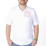 Survivor Breast Cancer Ten Years Golf Shirt